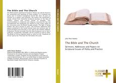 Bookcover of The Bible and The Church