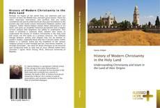Capa do livro de History of Modern Christianity in the Holy Land