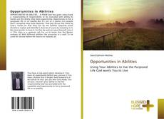 Bookcover of Opportunities in Abilities