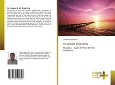 Couverture de In Search of Reality
