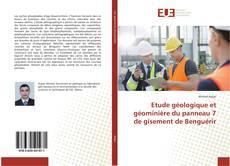Bookcover of Etude géologique et géominière du panneau 7 de gisement de Benguérir