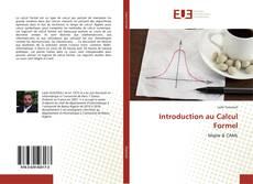 Buchcover von Introduction au Calcul Formel