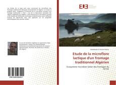 Обложка Etude de la microflore lactique d'un fromage traditionnel Algérien