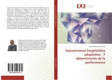 Bookcover of Gouvernance hospitalière adaptative : 7 déterminants de la performance