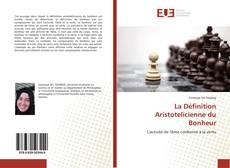 Portada del libro de La Définition Aristotelicienne du Bonheur
