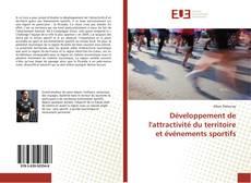 Bookcover of Développement de l'attractivité du territoire et événements sportifs