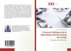 Finances Publiques de la République Démocratique du Congo的封面