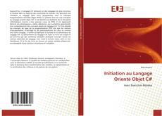 Initiation au Langage Orienté Objet C# kitap kapağı