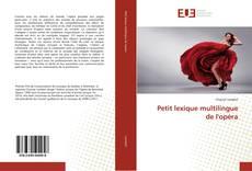 Обложка Petit lexique multilingue de l'opéra