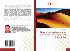 Capa do livro de Analyse paysagère comme outil dans l'aménagement du territoire
