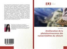 Couverture de Amélioration de la photoluminescence des nanocristallites du silicium
