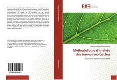 Обложка Méthodologie d'analyse des termes malgaches
