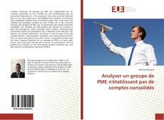Analyser un groupe de PME n'établissant pas de comptes consolidés kitap kapağı