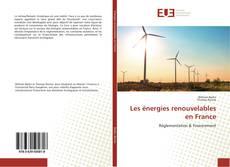Capa do livro de Les énergies renouvelables en France