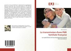 Couverture de La transmission d'une PME familiale française