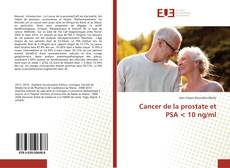 Bookcover of Cancer de la prostate et PSA < 10 ng/ml