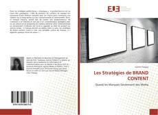 Couverture de Les Stratégies de BRAND CONTENT