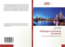 Téléologie et résistance hormonale kitap kapağı
