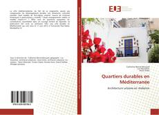 Couverture de Quartiers durables en Méditerranée