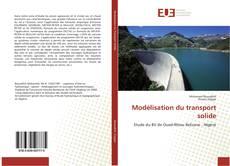 Capa do livro de Modélisation du transport solide