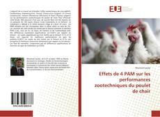 Capa do livro de Effets de 4 PAM sur les performances zootechniques du poulet de chair