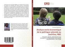 Capa do livro de Analyse socio-économique de la politique salariale au Sud Kivu, RDC