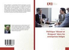 """Portada del libro de Politique """"Alcool et Drogues"""" dans les entreprises belges"""