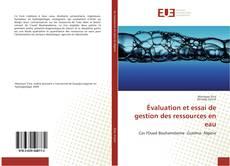 Bookcover of Évaluation et essai de gestion des ressources en eau