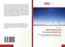 Bookcover of Optimisation des Puissances Réactives
