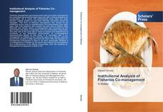 Buchcover von Institutional Analysis of Fisheries Co-management