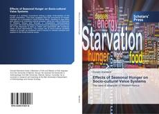 Buchcover von Effects of Seasonal Hunger on Socio-cultural Value Systems