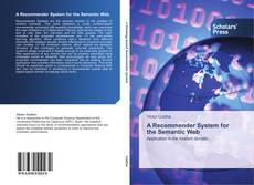 Bookcover of A Recommender System for the Semantic Web