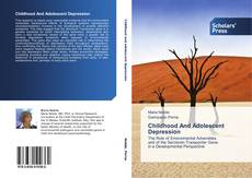 Copertina di Childhood And Adolescent Depression