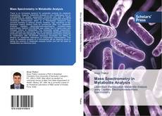 Couverture de Mass Spectrometry in Metabolite Analysis