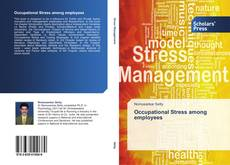Capa do livro de Occupational Stress among employees