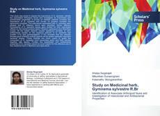 Обложка Study on Medicinal herb, Gymnema sylvestre R.Br