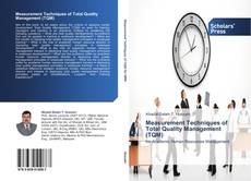 Capa do livro de Measurement Techniques of Total Quality Management (TQM)