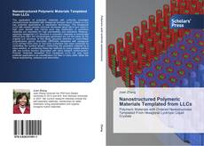Capa do livro de Nanostructured Polymeric Materials Templated from LLCs