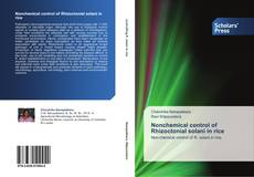 Bookcover of Nonchemical control of Rhizoctonial solani in rice