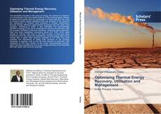 Capa do livro de Optimizing Thermal Energy Recovery, Utilisation and Management