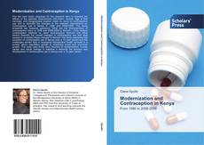 Capa do livro de Modernization and Contraception in Kenya