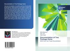 Bookcover of Documentation of Two Package Game