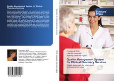 Buchcover von Quality Management System   for Clinical Pharmacy Services