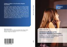 Capa do livro de Children's Music in the Southern Baptist Convention