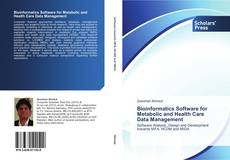 Capa do livro de Bioinformatics Software for Metabolic and Health Care Data Management