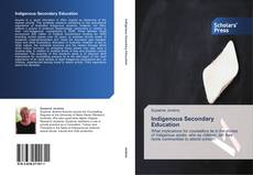 Capa do livro de Indigenous Secondary Education