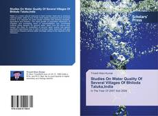 Buchcover von Studies On Water Quality Of Several Villages Of Bhiloda Taluka,India
