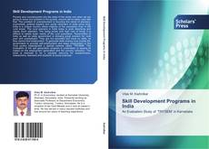 Bookcover of Skill Development Programs in India