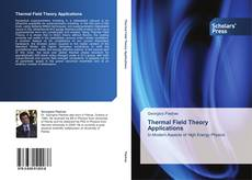 Bookcover of Thermal Field Theory Applications