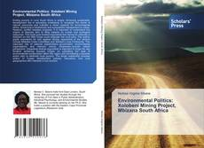 Portada del libro de Environmental Politics: Xolobeni Mining Project, Mbizana South Africa